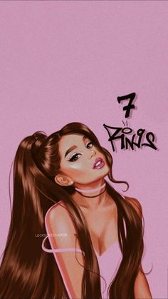 Love your song seven rings ari xx♡ Ariana Grande Fotos, Ariana Grande Anime, Ariana Grande Tumblr, Ariana Grande Drawings, Ariana Grande Pictures, Ariana Grande Background, Ariana Grande Wallpaper, Adriana Grande, Celebrity Drawings