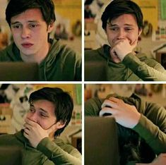 The stages of watching love Simon Nick Robinson, Amor Simon, Great Love Stories, Love Story, Love Simon Movie, I Love Simon, Jacques A Dit, Simon Spier, Becky Albertalli