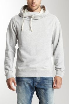 Scotch & Soda Twisted Hooded Sweatshirt