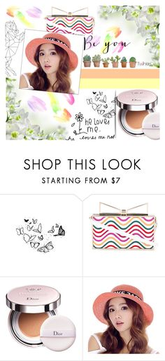 """""""#BeYou"""" by juromi ❤ liked on Polyvore featuring Sara Battaglia, Christian Dior, He Loves Me, trend, women, powerful and twinkledeals"""