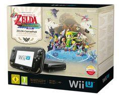 Nintendo Wii U Premium + The Legend of Zelda: The Wind Waker HD Edition