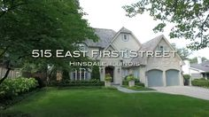 Lisa Allegra, @coldwellbanker, and HiRez Productions present 515 E. 1st Street in Hinsdale, IL.