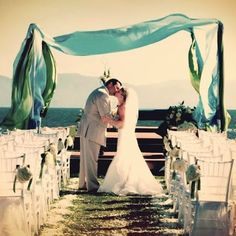 Say #IDo surrounded by the ocean #Wedding #VelasVallarta #PuertoVallarta