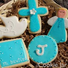 Baptism/ First Communion cookies!