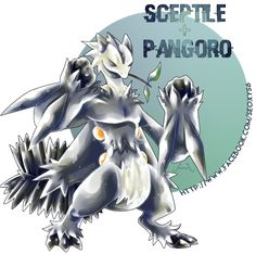 Sceptile X Pangoro by Seoxys6 on DeviantArt