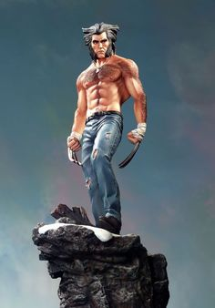 Wolverine Logan statue Sculpted by: Ray Villafane  Release Date: November 2004 Edition Size: 2000 Order Of Release: Phase II (statue #39)
