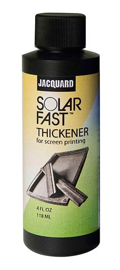 SolarFast Thickener is intended to be used to increase viscosity when screen printing with SolarFast. Sun Painting, Drink Sleeves, Screen Printing, Prints, Drawers, Silk Screen Printing, Sun Drawing, Screenprinting