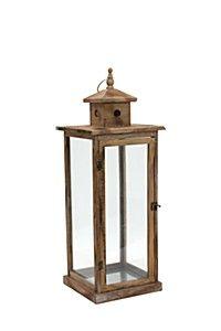 Wooden Large Lantern, Mr Price Home, R300.
