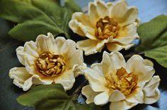 Мастер-класс: цветы для скрапа. Обсуждение на LiveInternet - Российский Сервис Онлайн-Дневников