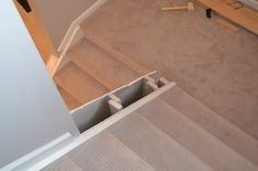 DIY Banisters | Still Dreaming of a Finished Basement | April Colleen