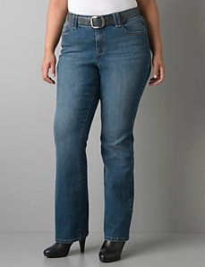 Alissa boot jean with Tighter Tummy Technology by Lane Bryant