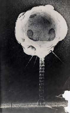 Bloom of A Nuclear Detonation. Atomic bomb test, Las Vegas, Nevada, Oct 29, 1953. Photo: Harold Edgerton