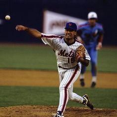 Ron Darling - New York Mets pitcher.