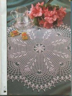 Kira crochet: Scheme no. 96