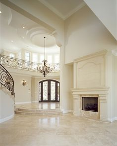 Luxury Kitchen Archives - Page 5 of 10 - Luxury Homes Travertine Floors, Entrance Design, Entrance Ideas, Entrance Foyer, Entryway Decor, Deco Design, Luxury Kitchens, Home Look, My Dream Home