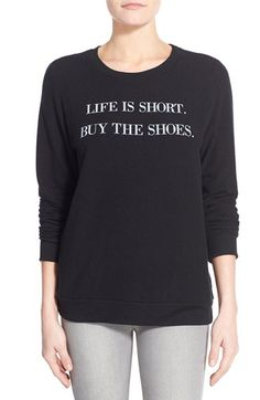 Check out the Signorelli 'Yummy Fleece' Graphic Sweatshirt from Nordstrom: http://shop.nordstrom.com/S/4331035