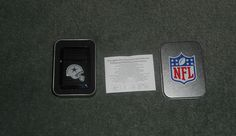 DALLAS COWBOYS NFL Butane Lighter in Tin Case w/Instructions, Comes Empty, NIB!  #NFLOffiicialWildMerchandise #DallasCowboys