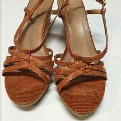 Burnt Orange Wedges Fall Orange Wedges Kenneth Cole Reaction Shoes Wedges