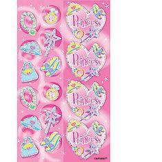 Sparkle Princess Prismatic Stickers