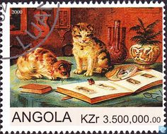 Postage Stamps - Angola [AGO] - Cats