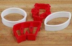 wisconsin badger cookie cutters