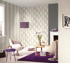 Schön Wohnzimmer Tapeten Ideen Modern