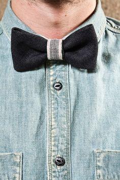 Blue Jeans Company Denim Bow Tie