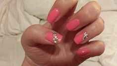 So pretty #pink #rhinestones