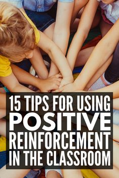 How to Use Positive Reinforcement in the Classroom | Whether your students are in preschool, kindergarten, upper elementary, or middle school, one thing is for certain: you need a classroom management system that works. We're sharing 6 positive reinforcement strategies for teachers, along with 9 classroom reward system ideas to inspire you! Classroom Reward System, Classroom Rewards, Behavior Rewards, Behavior Charts, Classroom Themes, Positive Reinforcement Kids, Positive Behavior, Classroom Management Strategies, Behaviour Management