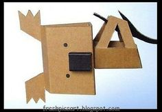 Crafts and figures with cardboard boxes, fun ideas!