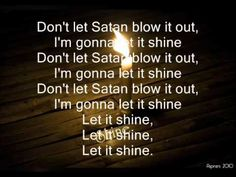 This little light of mine. Love singing this to my baby boy and he enjoys it too
