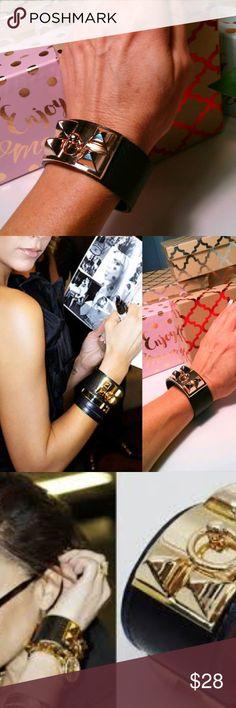 8a71b50c801 I just added this listing on Poshmark  High Fashion Letherette Cuff Bracelet.   shopmycloset
