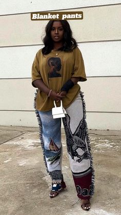 Black Girl Fashion, Dope Fashion, Fashion Line, Fashion Looks, Black Girl Aesthetic, Aesthetic Fashion, Aesthetic Clothes, Simple Outfits, Pretty Outfits