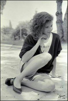 Mylène Farmer young