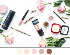 The perfect wedding palette of colors from L'Oreal