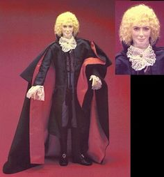 Lestat doll, approved by anne rice by juliette