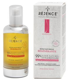 Huile Naturelle Régénérante Rejence | Réjence - Soins Dermo-Cosmétiques Naturels - produits de Santé et de Beauté aux huiles précieuses