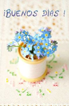 Coco Rose Diaries: New Beginnings.and Forget-Me-Nots. Little Flowers, My Flower, Blue Flowers, Flower Power, Beautiful Flowers, Spring Flowers, Coco Rose Diaries, Buenos Dias Quotes, Good Day Sunshine