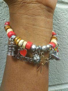 """""""Crafter's"""" charm bracelet. 😊"""