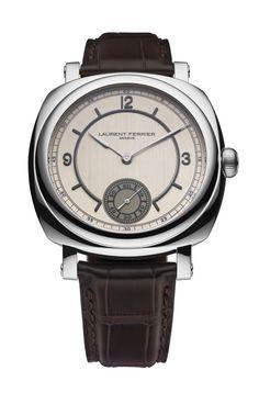 TimeZone : Industry News » N E W M o d e l - Laurent Ferrier Galet Square Vintage America I