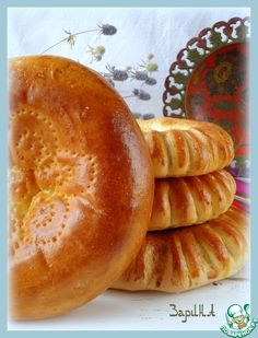 Кульча Yeast Bread, Bread Baking, Bread And Pastries, Challah, Russian Recipes, Quick Bread, Bakery, Deserts, Easy Meals
