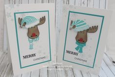 This is the card that I have been using as my Make and Take for my recent Parties. It is based on a design by a lovely Australian Demo - ...