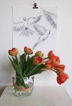 Art by Aastrøm #illustration #birds aastrom.dk