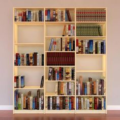 Design your own bookcase & office shelving to fit your specific needs. Fantastic modular home shelving systems for bespoke domestic storage solutions. Office Shelving, Shelving Units, Wooden Shelves, Bookcases, Sorting, Storage Solutions, Shelf, Easter, The Unit