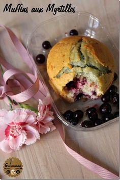 Muffins Moelleux à La Myrtille {Goulucieusement}