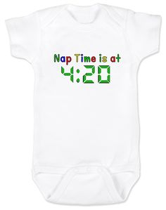 Nap at 420 Onesie or T-Shirt
