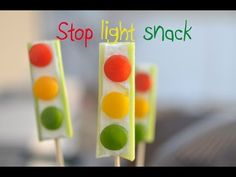 Sweet and Savory Stop Lights | Healthy Ideas for Kids