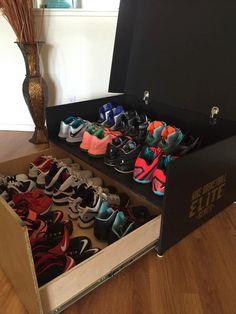 brand new 63690 d85a5 16pair LeBron Shoe Storage Box Yeezy Skor, Anpassade Skor, Jordan Shoes, Nike  Skor