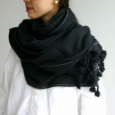 d'noir...wool...wrap