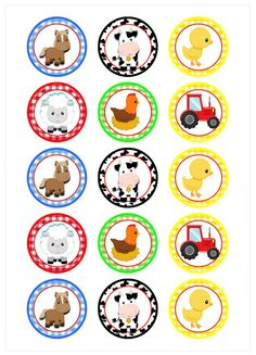 Farm Animal Party, Farm Animal Crafts, Farm Animal Birthday, Barnyard Party, Farm Birthday, Farm Party, First Birthday Parties, Farm Animals, Birthday Party Themes